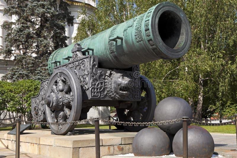 Карамболь царя, Москва Кремль, Россия. стоковые изображения rf