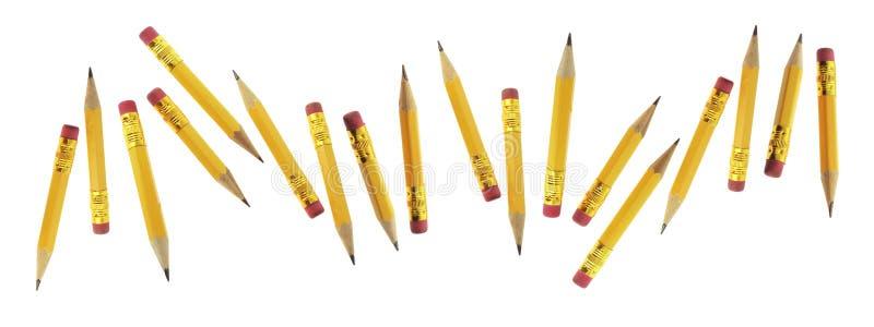 карандаши замыкают накоротко стоковое фото rf