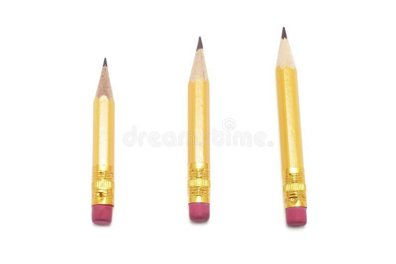 карандаши замыкают накоротко стоковая фотография rf