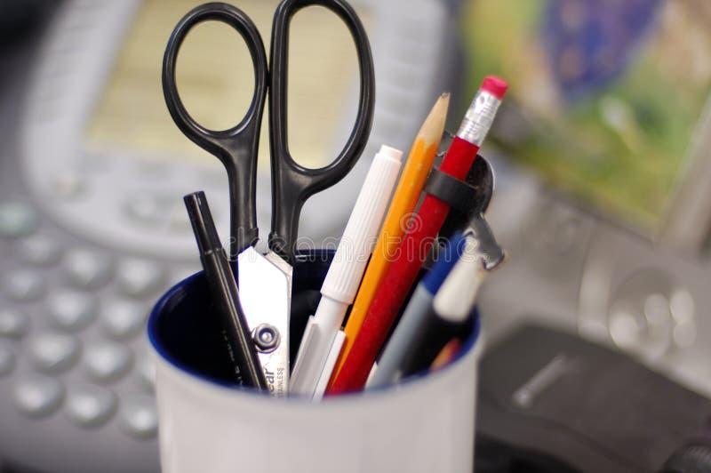 карандаши опарника стоковое изображение rf