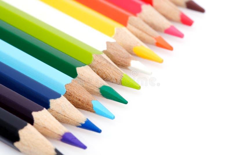 карандаши расцветки стоковое изображение rf