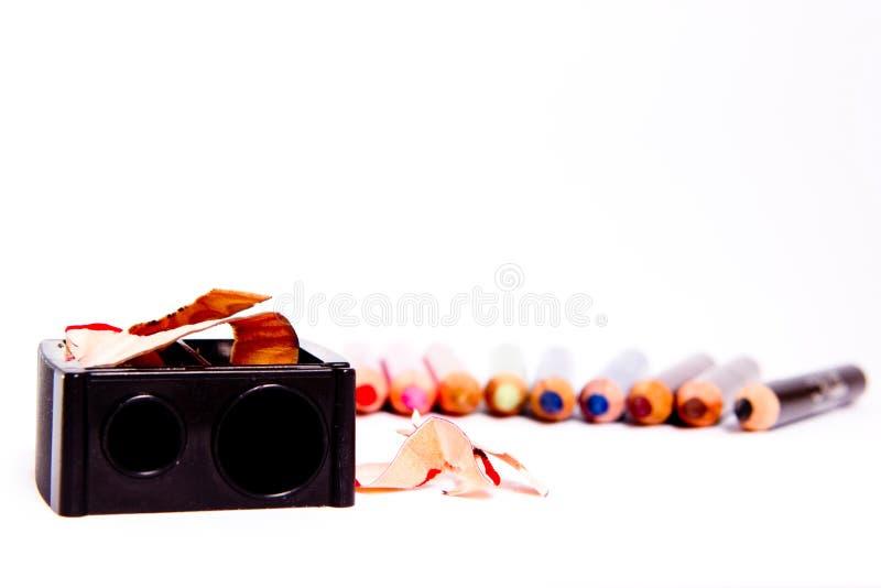 Карандаши состава стоковое фото
