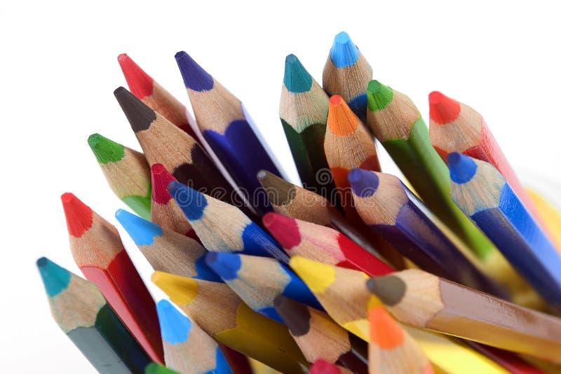 карандаши цвета стоковое фото rf