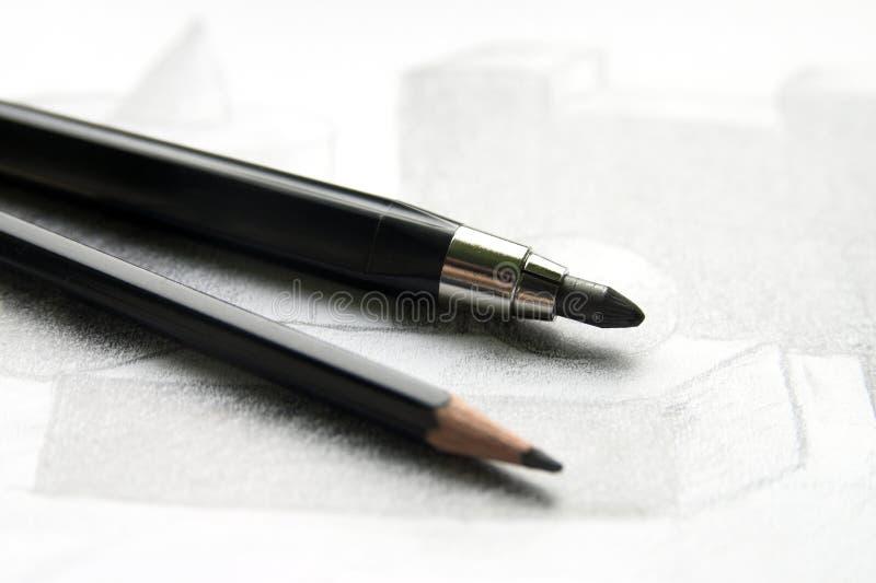 Download карандаши стоковое фото. изображение насчитывающей предмет - 6868674