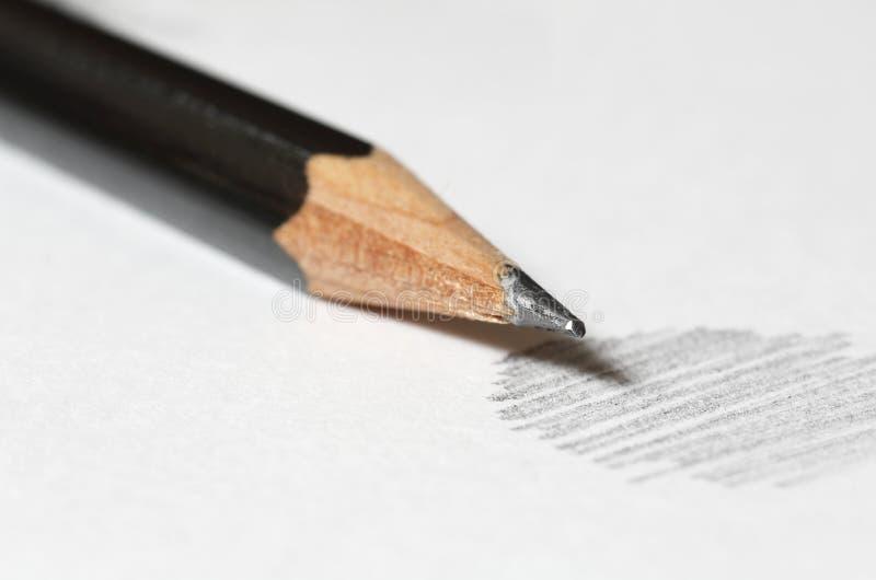 карандаш графита стоковое фото rf