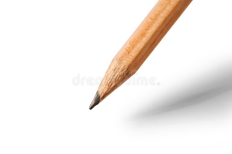 карандаш деревянный стоковое изображение