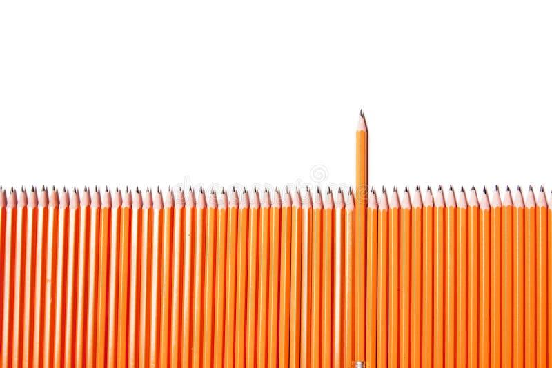 карандаш загородки стоковая фотография rf
