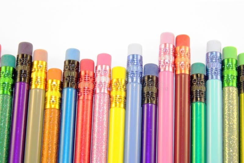 карандаш истирателей стоковое фото