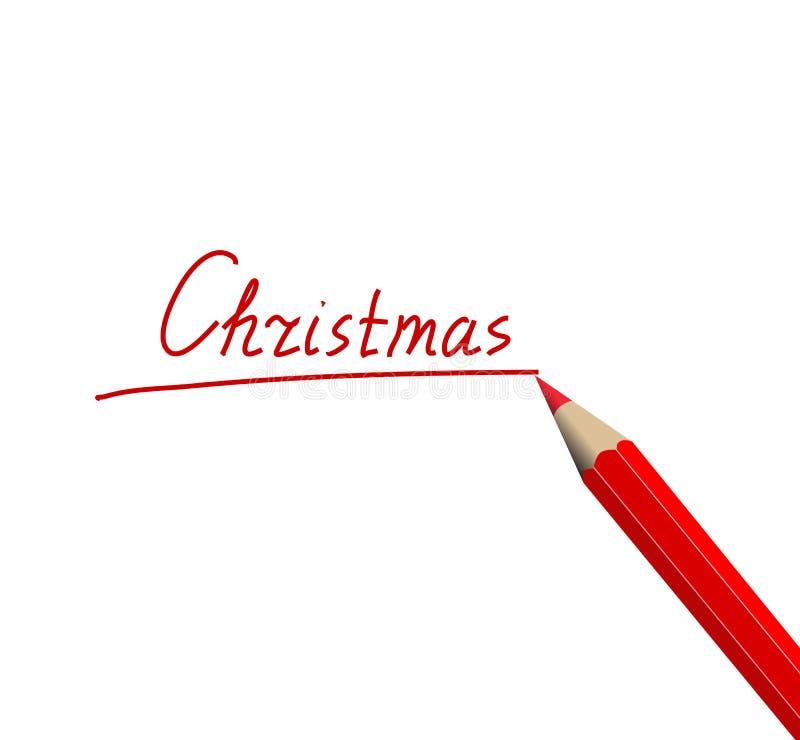 карандаш рождества бесплатная иллюстрация