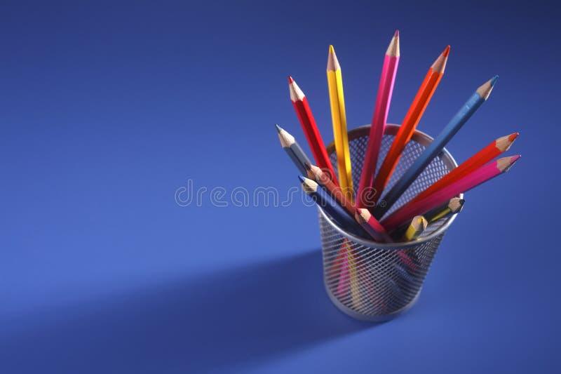 карандаш цвета стоковые фото