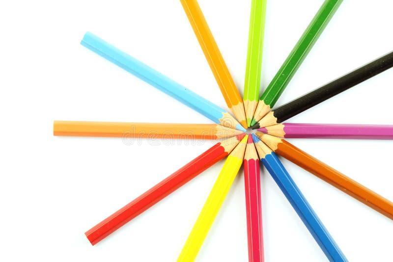 Карандаш цвета стоковая фотография rf