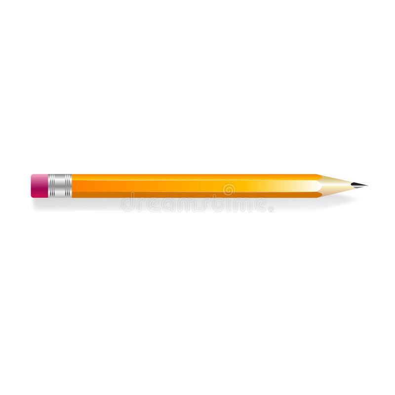 карандаш иллюстрация штока