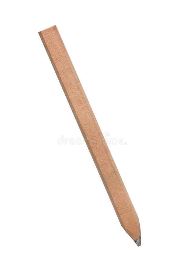 карандаш s плотника стоковое изображение