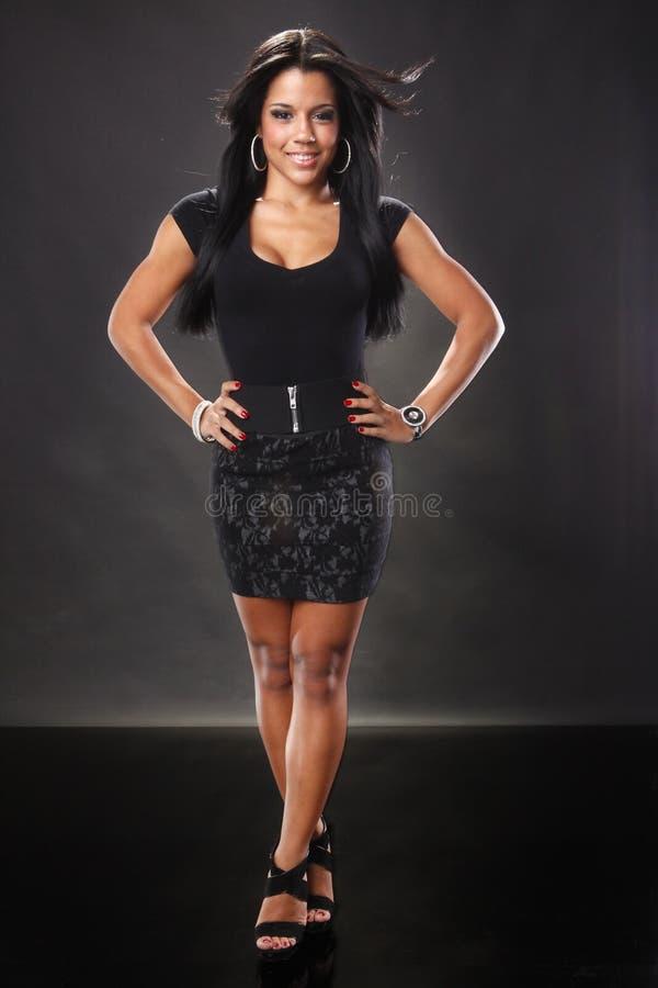 карибская девушка стоковые изображения