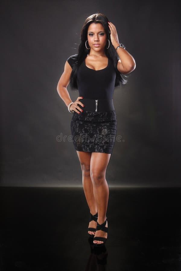 карибская девушка стоковое фото