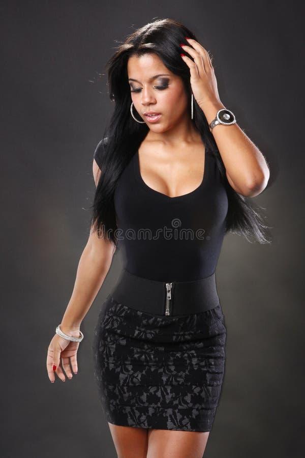 карибская девушка стоковое изображение rf
