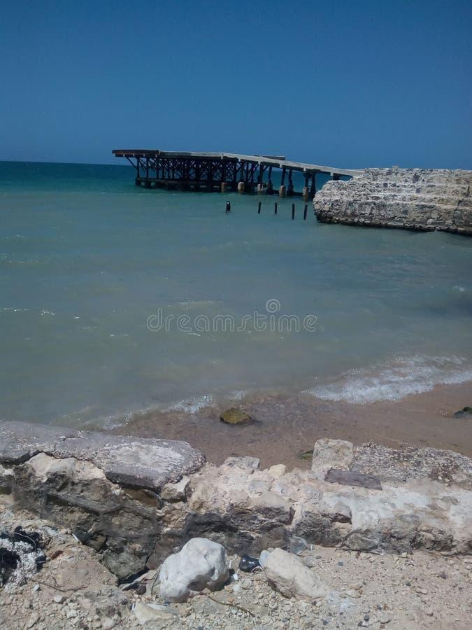 карибский взгляд океана стоковые фото