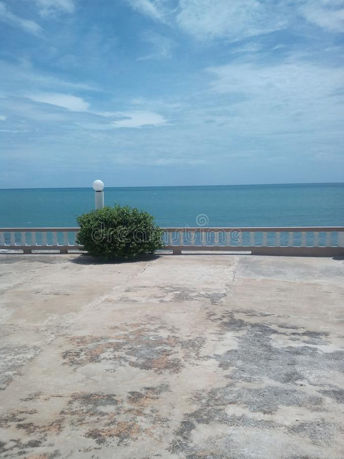карибский взгляд океана стоковые изображения rf