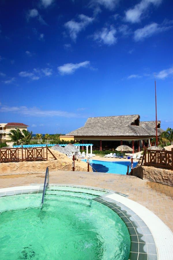 Download карибский курорт редакционное стоковое фото. изображение насчитывающей green - 18378668