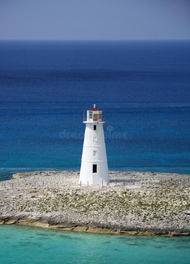 карибский маяк стоковые изображения rf