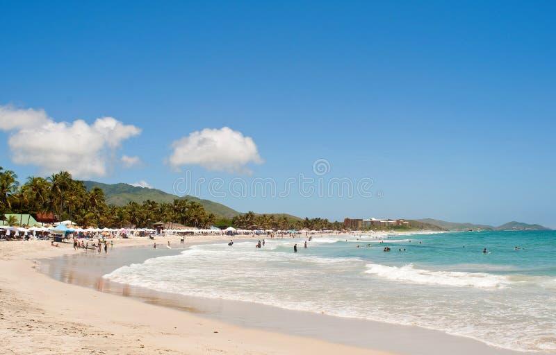Карибский пляж стоковые фотографии rf