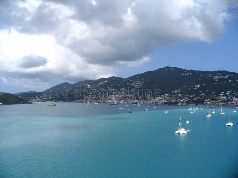 карибский st thomas стоковые фото