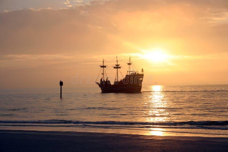 04 карибских пирата стоковое изображение