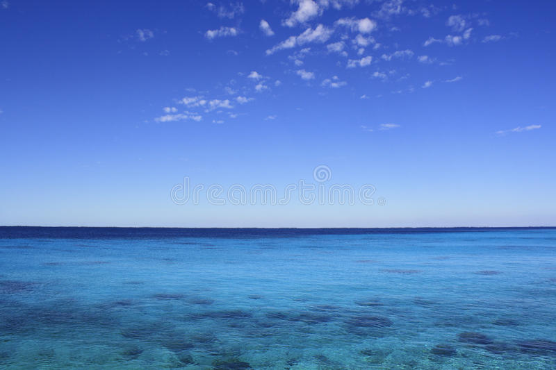 карибское море стоковое изображение rf