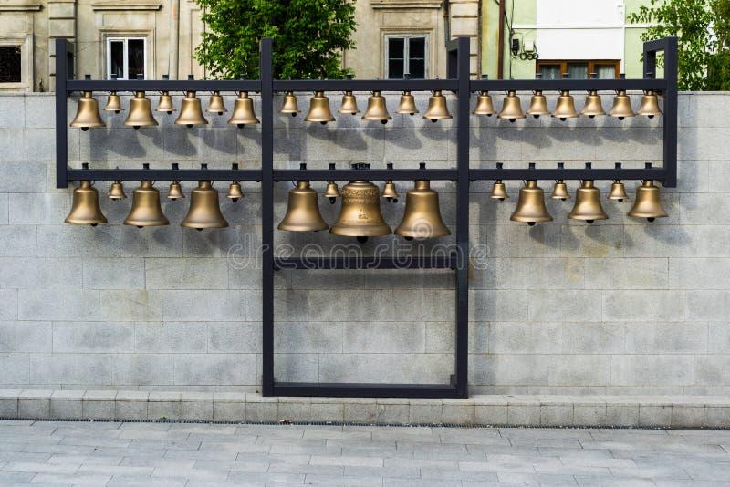 Карильон колокола в конематке Baia стоковые фотографии rf
