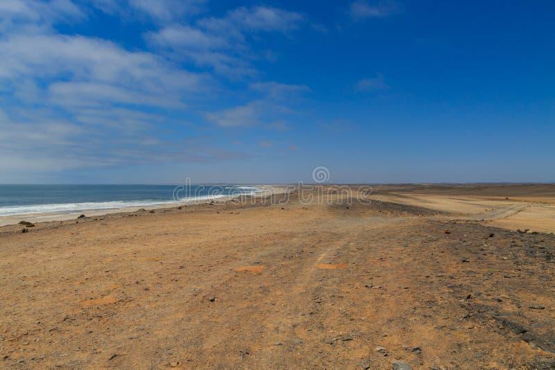 Каркасное побережье стоковые фотографии rf