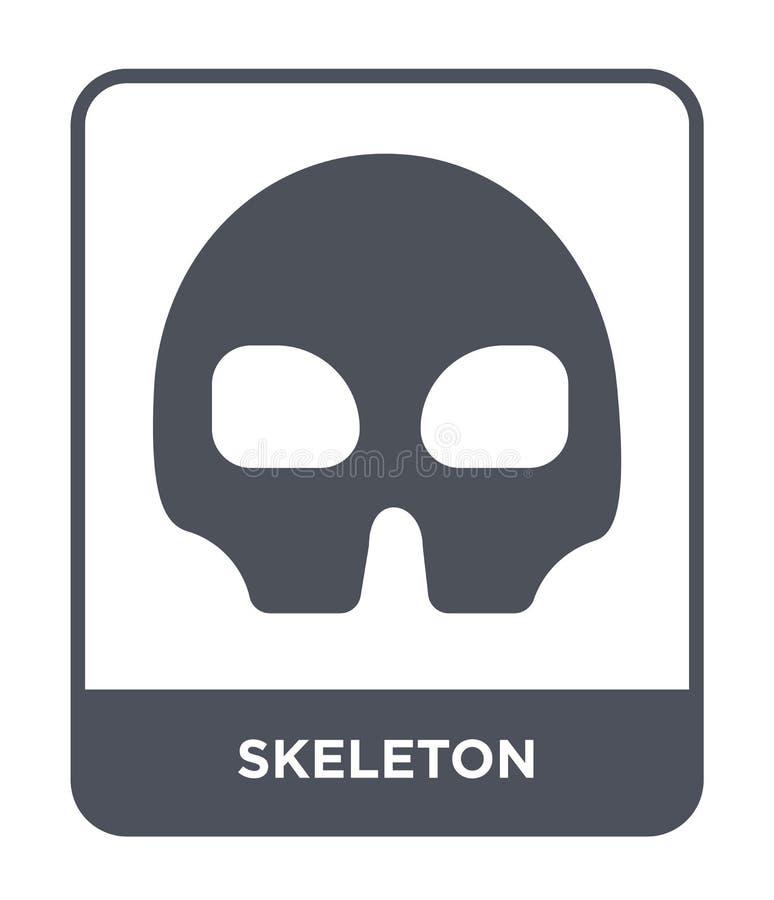 каркасный значок в ультрамодном стиле дизайна каркасный значок изолированный на белой предпосылке квартира каркасного значка вект бесплатная иллюстрация