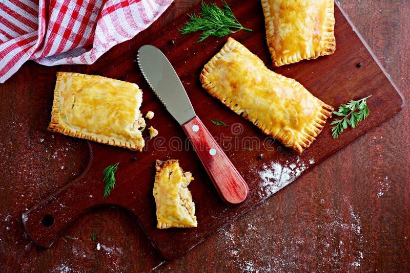 Карманные пироги стоковые фотографии rf