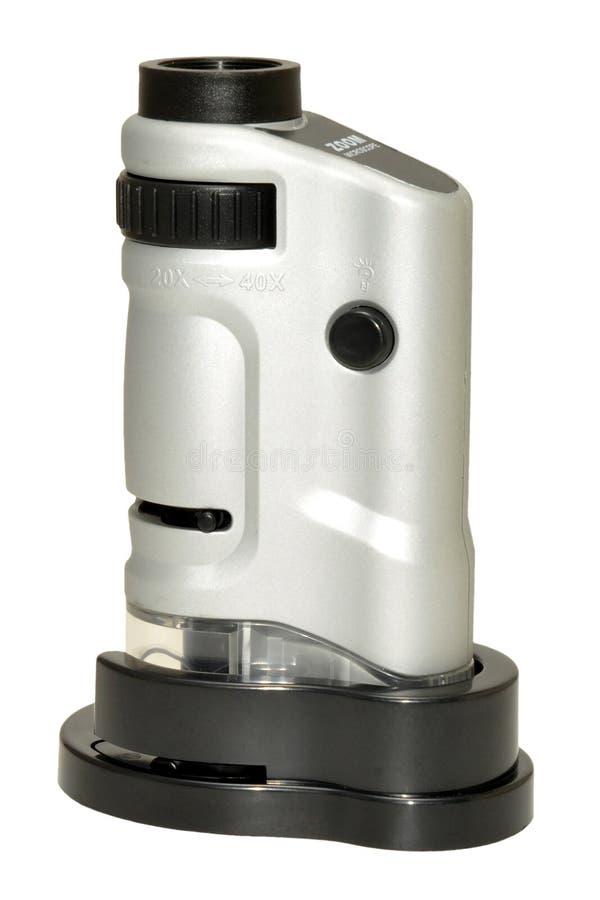 Карманный микроскоп стоковое фото rf