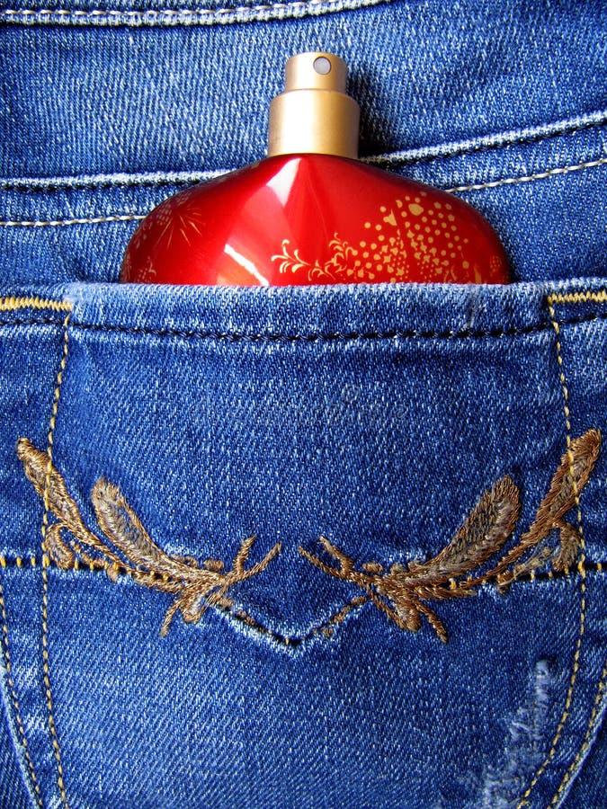 карманн дух джинсыов стоковые изображения