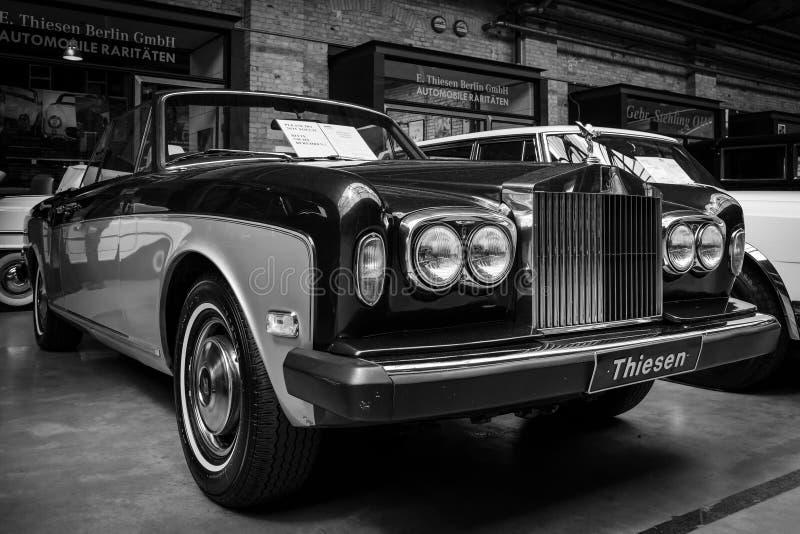 карниз i Rolls Royce 2-двери обратимый стоковое изображение rf