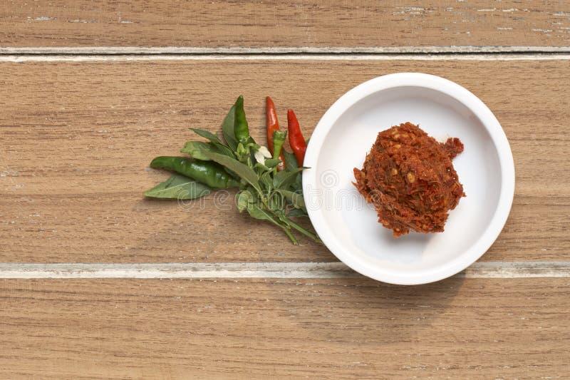 Карри тайское Tood Chili стоковая фотография rf
