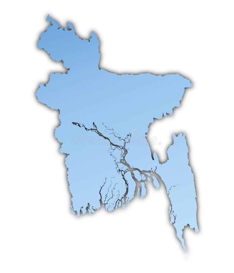 Download карта Бангладеша иллюстрация штока. иллюстрации насчитывающей диаграмма - 6862453