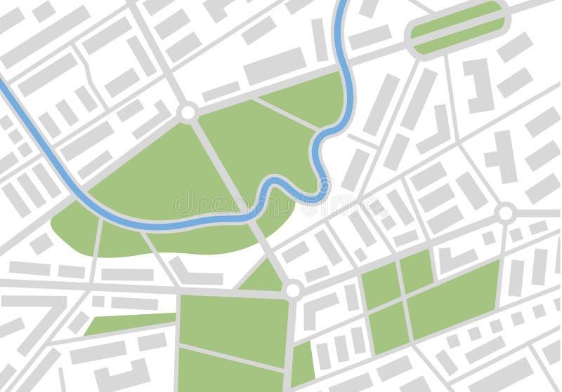 Карта вектора иллюстрация штока