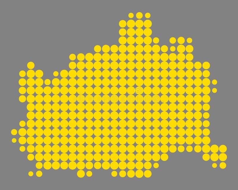 Карта вены бесплатная иллюстрация