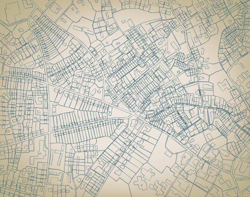 карта грубая бесплатная иллюстрация