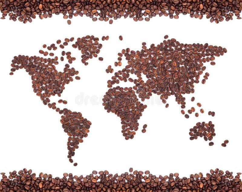 карта кофе стоковые фотографии rf