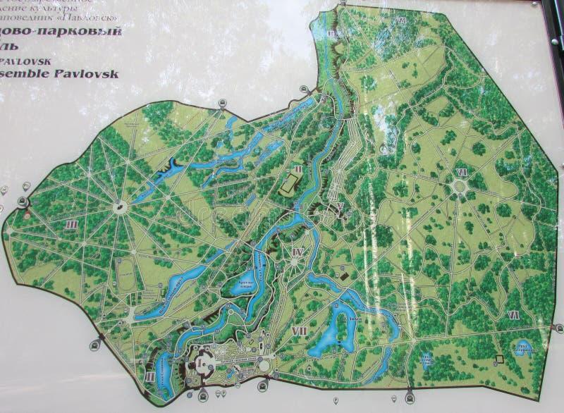 Карта местности стоковые изображения