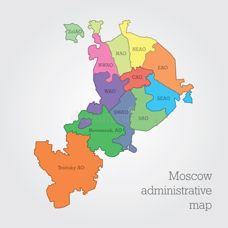 этот карта москвы с границами округов на картинке ардова стала больше