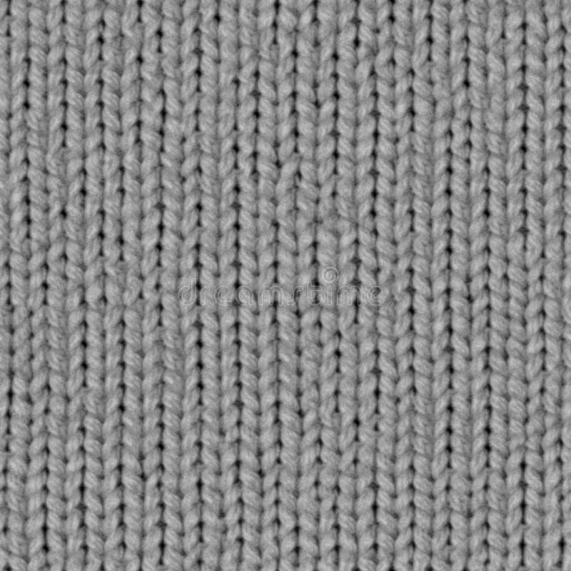 Карта смещения текстуры 7 ткани безшовная вязать стоковое изображение rf
