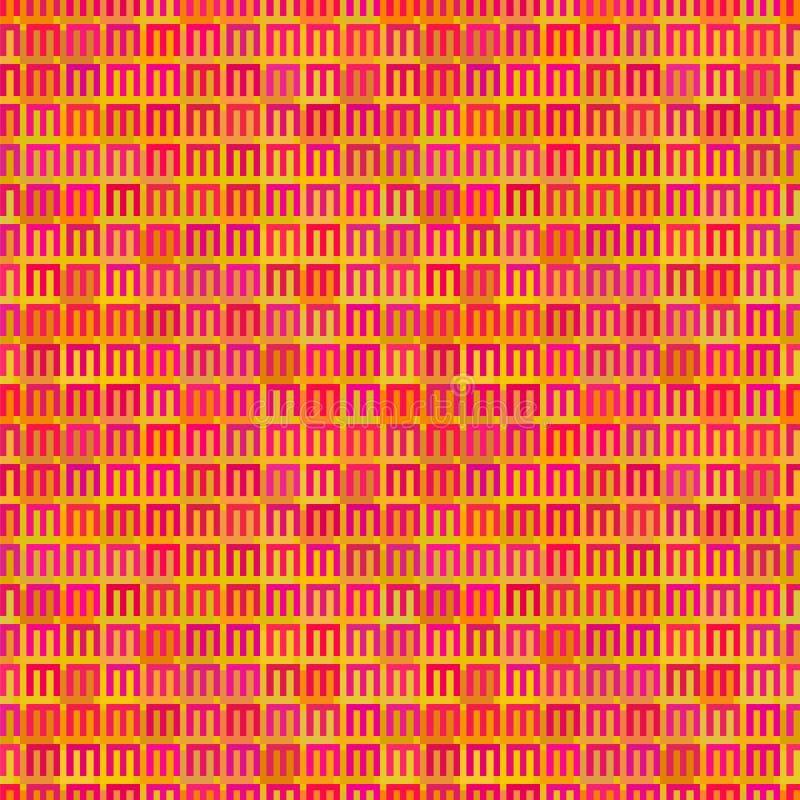 Картина абстрактного вектора безшовная яркое varied бесплатная иллюстрация