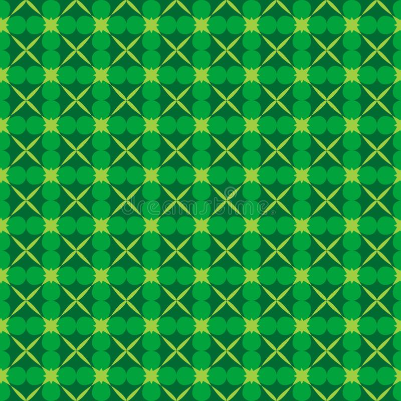Картина абстрактного вектора природы безшовная иллюстрация штока