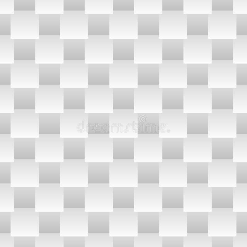 Картина абстрактного вектора monochrome безшовная с g бесплатная иллюстрация