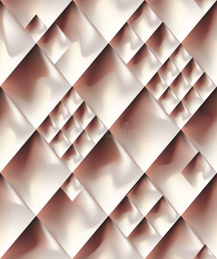 Картина абстрактного металла золота розового безшовная бесплатная иллюстрация