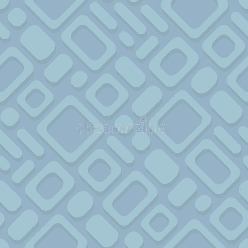 Картина абстрактного простого геометрического вектора раскосная - прямоугольная иллюстрация вектора