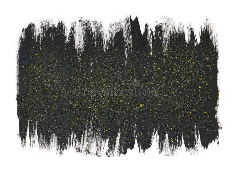 Картина акварели абстрактная иллюстрация вектора